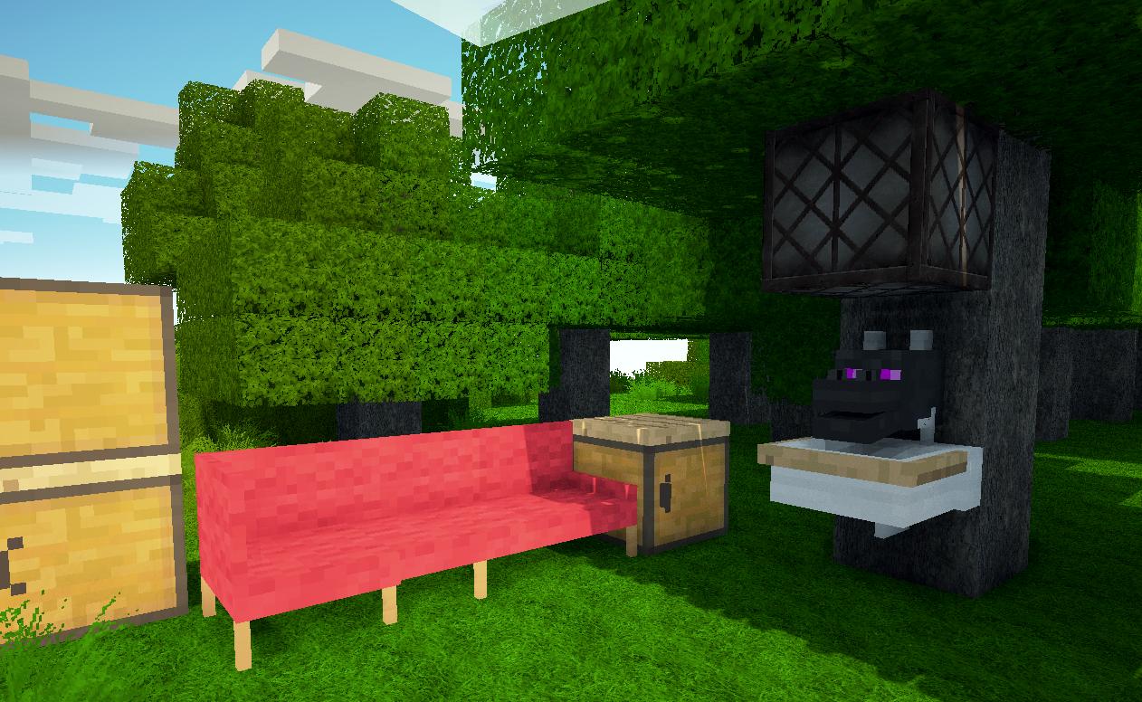Glixyl Mosmpv3 Minecraft 125mo Creatures Furniture Dimensions