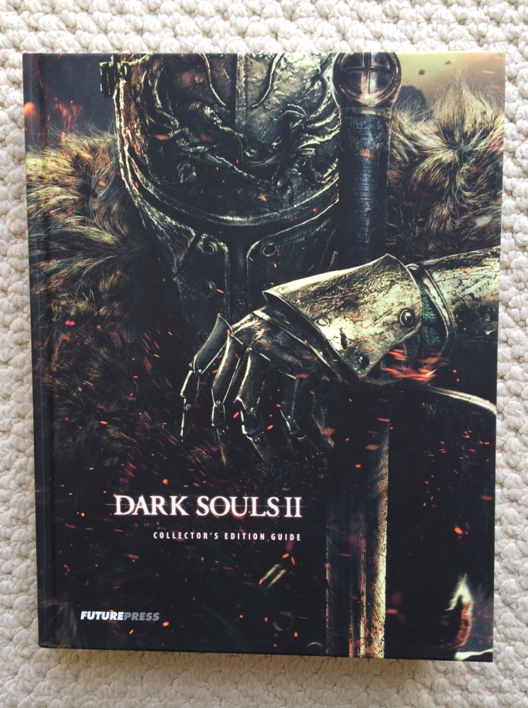 Dark Souls II - Collector's Edition book has excellent artwork and detail.