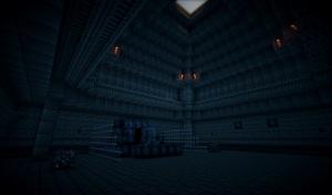 Temple with Queen Xenomorph guarding portal to Varda LV-223.